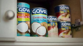 Goya Foods Coconut Products TV Spot, 'Holidays: Coquito' - Thumbnail 2