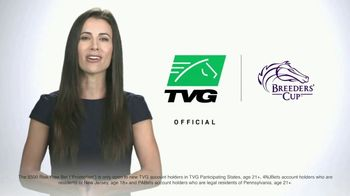 TVG Network TV Spot, 'Official Partner of the Breeders' Cup: $500 Bet'