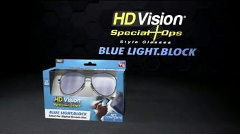 HD Vision Special Ops Blue Light Block TV Spot, 'Digital Eye Strain'