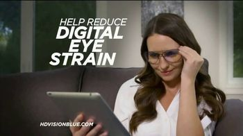 HD Vision Special Ops Blue Light Block TV Spot, 'Digital Eye Strain' - Thumbnail 5