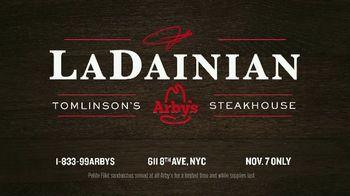 Arby's TV Spot, 'LaDainian Tomlinson's Arby's Steakhouse' - Thumbnail 6