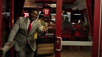 Arby's TV Spot, 'LaDainian Tomlinson's Arby's Steakhouse' - Thumbnail 4