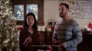 Capital One Walmart Rewards Card TV Spot, 'Stockings'
