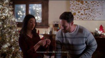 Capital One Walmart Rewards Card TV Spot, 'Stockings' - Thumbnail 4