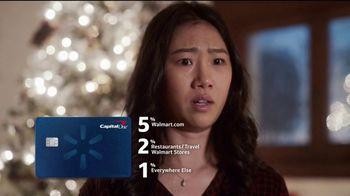 Capital One Walmart Rewards Card TV Spot, 'Stockings' - Thumbnail 6