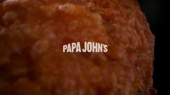 Papa John's Garlic Parmesan Crust TV Spot, 'Flavored Pizza Crust' - Thumbnail 1