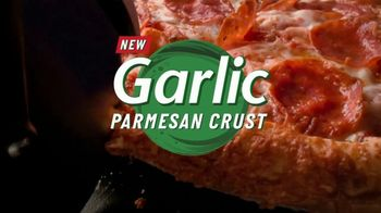 Papa John's Garlic Parmesan Crust TV Spot, 'Flavored Pizza Crust' - Thumbnail 5