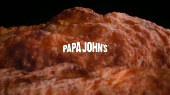 Papa John's Garlic Parmesan Crust TV Spot, 'Mt. Crustmore' - Thumbnail 1