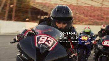 CoverGirl LashBlast Mascara TV Spot, 'I Am What I Make' Featuring Shelina Moreda, Song by Peaches - Thumbnail 4