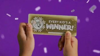Chuck E. Cheese's TV Spot, 'This Holiday Every Kid's a Winner: Instant Win Game Piece' - Thumbnail 2