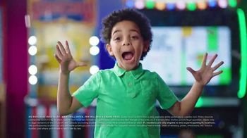 Chuck E. Cheese's TV Spot, 'This Holiday Every Kid's a Winner: Instant Win Game Piece'