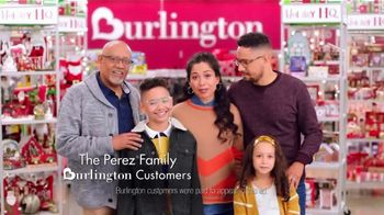 Burlington TV Spot, 'Holiday: The Perez Family'
