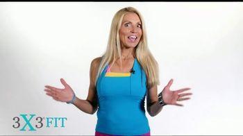 3X3FIT TV Spot, 'Total Body Workout' - Thumbnail 1