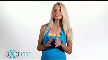 3X3FIT TV Spot, 'Total Body Workout' - Thumbnail 2