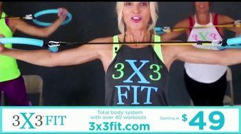 3X3FIT TV Spot, 'Total Body Workout' - Thumbnail 3
