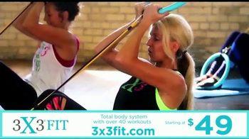3X3FIT TV Spot, 'Total Body Workout' - Thumbnail 4