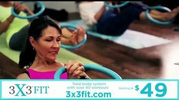 3X3FIT TV Spot, 'Total Body Workout' - Thumbnail 5