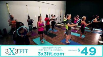 3X3FIT TV Spot, 'Total Body Workout' - Thumbnail 6