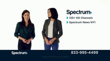 Spectrum TV + Internet TV Spot, 'Comparison Speeds: Fios'