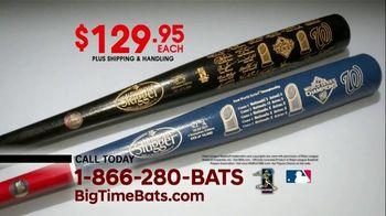 Big Time Bats TV Spot, 'Nationals First World Series Two-Tone Bat' - Thumbnail 7