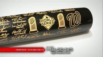 Nationals First World Series Two-Tone Bat thumbnail