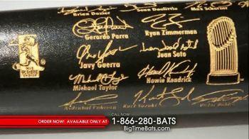 Big Time Bats TV Spot, 'Nationals First World Series Two-Tone Bat' - Thumbnail 4
