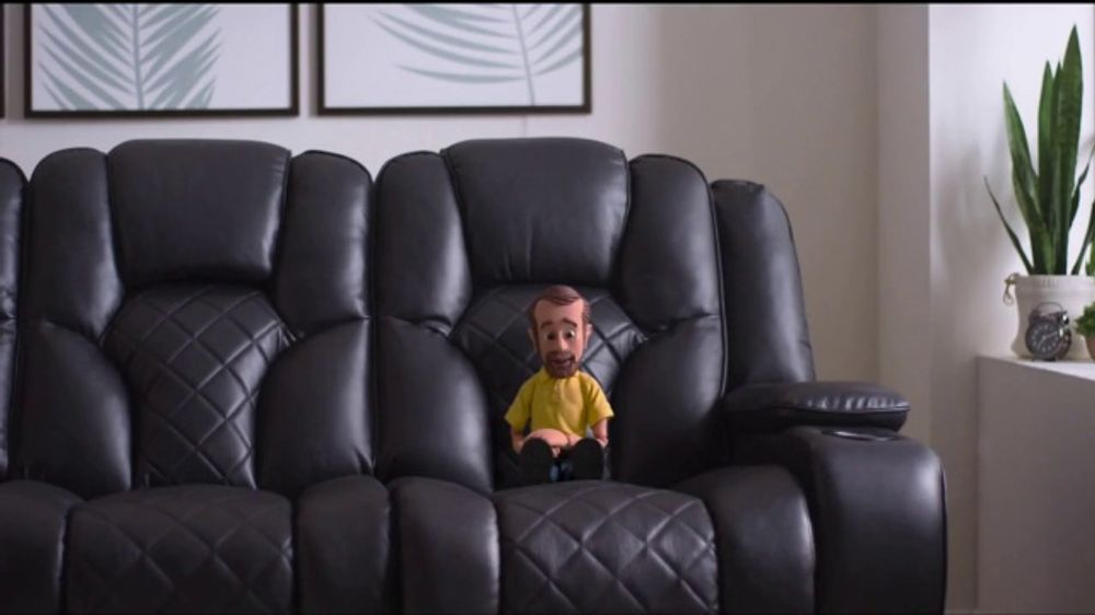 Bob's Discount Furniture TV Commercial, 'Panther Power Reclining Sofa'