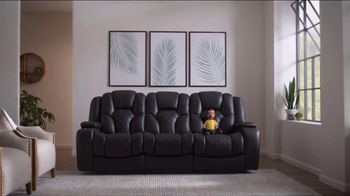 Bob's Discount Furniture TV Spot, 'Panther Power Reclining Sofa' - Thumbnail 2