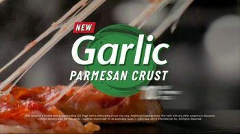 Papa John's Garlic Parmesan Crust TV Spot, 'Prehistoric'