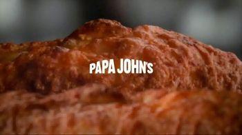 Papa John's Garlic Parmesan Crust TV Spot, 'Prehistoric' - Thumbnail 1