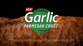 Papa John's Garlic Parmesan Crust TV Spot, 'The Crust Below' - Thumbnail 9