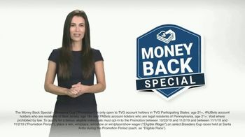 TVG Network Money Back Special TV Spot, 'Official Partner of the Breeders' Cup' - 9 commercial airings