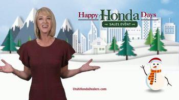 Happy Honda Days Sales Event TV Spot, 'Season of Savings: Civics and Accords' [T2] - Thumbnail 2