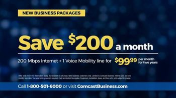 Comcast Business Packages TV Spot, 'Beyond Fast: Save $200' - Thumbnail 9