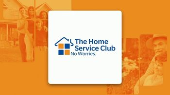 The Home Service Club TV Spot, 'Constant Worry: $75 Your First Year' - Thumbnail 1