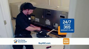 The Home Service Club TV Spot, 'Constant Worry: $75 Your First Year'