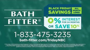Bath Fitter Black Friday Event TV Spot, 'You Can Save: No Interest or 10 Percent Off' - Thumbnail 9