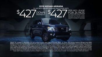 2019 Nissan Armada TV Spot, 'Intelligence With Attitude' [T2] - Thumbnail 9