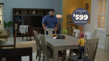 Bob's Discount Furniture TV Spot, 'Seven Piece Summit Dining Set' - Thumbnail 3