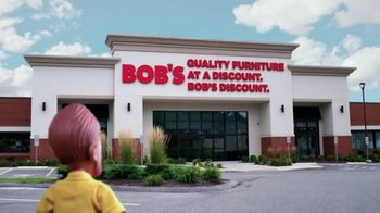 Bob's Discount Furniture TV Spot, 'Seven Piece Summit Dining Set' - Thumbnail 8