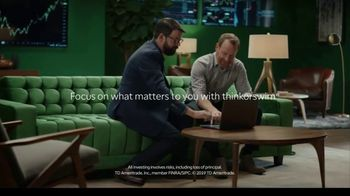 TD Ameritrade thinkorswim TV Spot, 'The Green Room: Trading, Tailor-Made' - Thumbnail 9