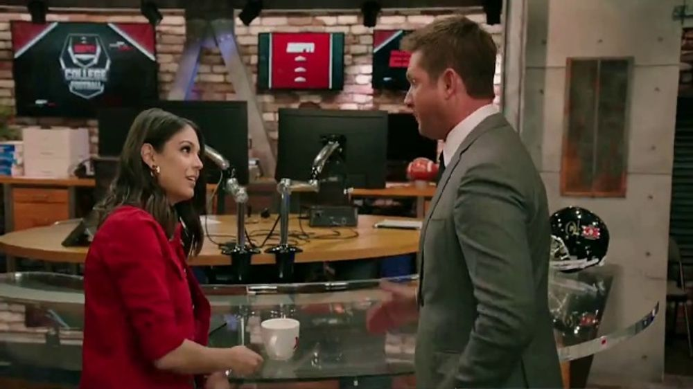 Dos Equis TV Commercial, 'ESPN: Lucky There's a Curve' Featuring Todd McShay, Katie Nolan