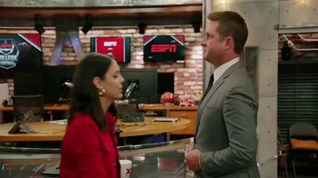 Dos Equis TV Spot, 'ESPN: Lucky There's a Curve' Featuring Todd McShay, Katie Nolan - Thumbnail 7
