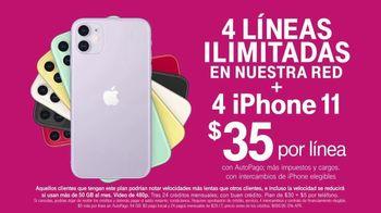 T-Mobile TV Spot, 'iPhone 11: cuatro líneas ilimitadas' canción de Aerosmith [Spanish] - Thumbnail 5