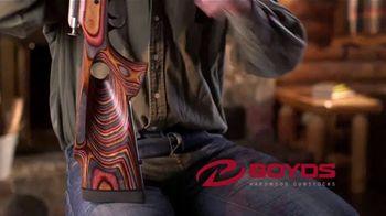 Boyds Gunstocks, Inc. TV Spot, 'Shoot Better and Look Better' - Thumbnail 2