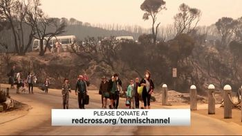 American Red Cross TV Spot, 'Tennis Channel: Australian Bush Fires' - Thumbnail 5
