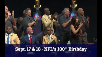 Pro Football Hall of Fame TV Spot, '2020 Centennial Celebration' - 162 commercial airings