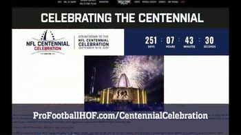 Pro Football Hall of Fame TV Spot, '2020 Centennial Celebration' - Thumbnail 9