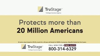 TruStage Insurance Agency TV Spot, 'Average Funeral Costs'