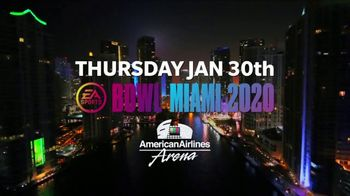 Super Bowl Music Fest TV Spot, '2020 Miami: American Airlines Arena: Meek Mill'